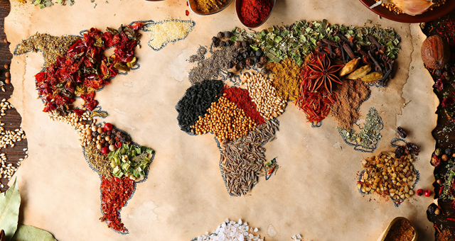 DÜNYA'NIN GIDASI WORLD FOOD'DA